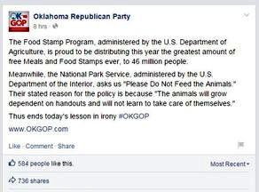 Facebook del Partido republicano