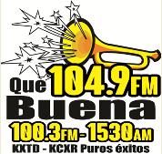 Que Buena Tulsa 104.9FM &  100.3FM