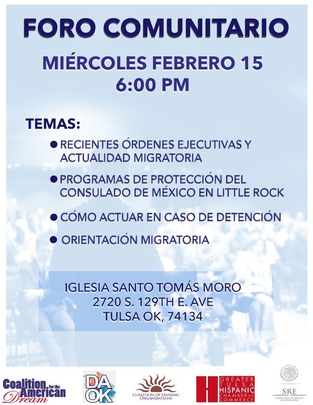 Que Buena Tulsa 104 9FM & 100 3FM   Consulado mexicano