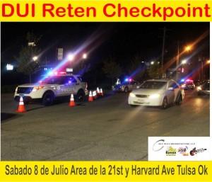 DUI Reten Checpoint